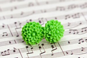 Krysantemum - ljusgrön