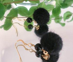 Pom pom - svart