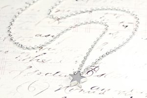 STAR - large silver