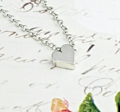 HEART - large silver