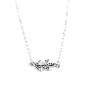 Halsband kvist - silver