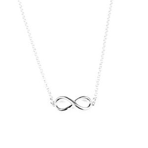 Halsband evighet - silver
