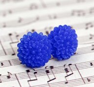 Krysantemum - blå