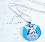Halsband - Zebra